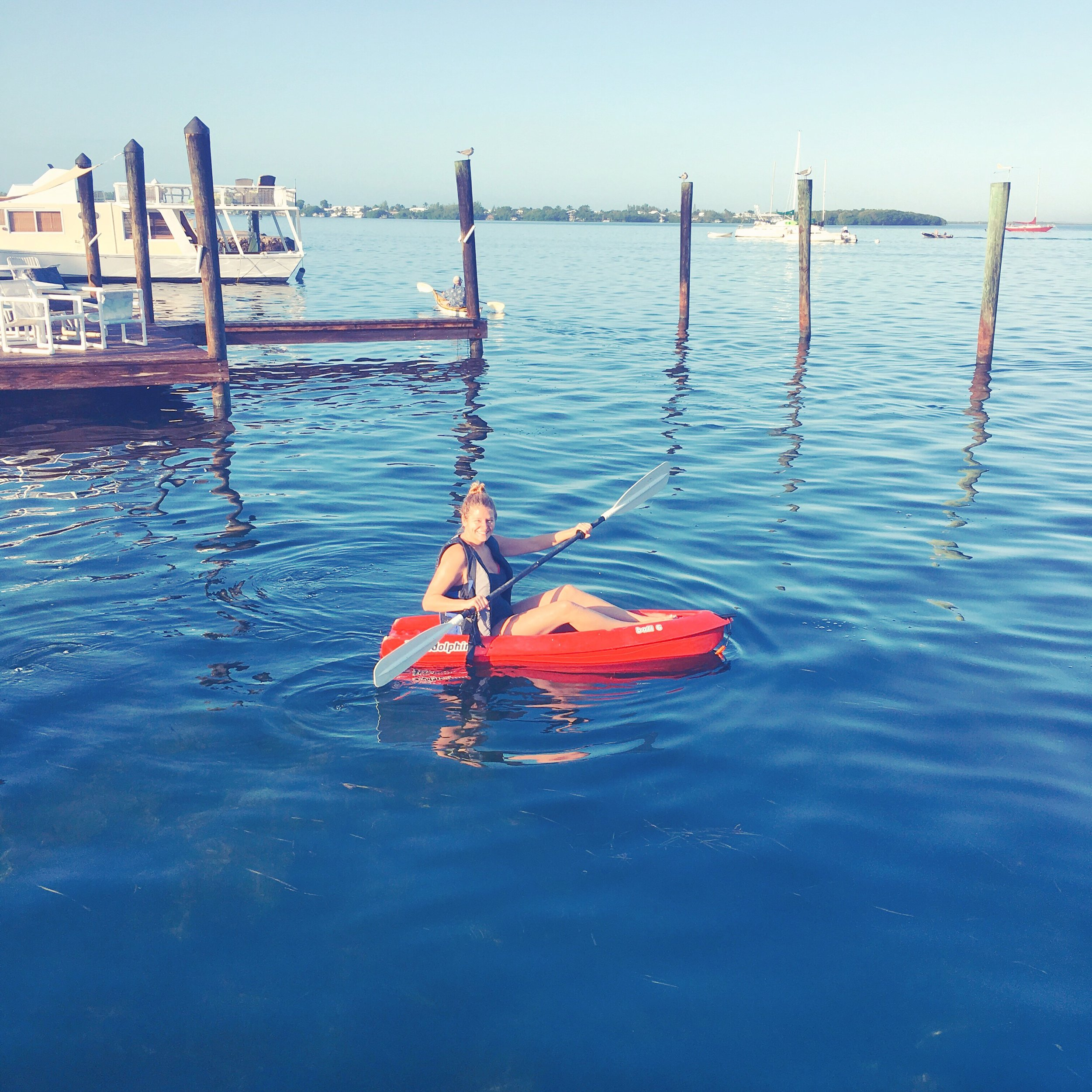 Ocean Kayaking - Key Lime Cottages - Key Largo