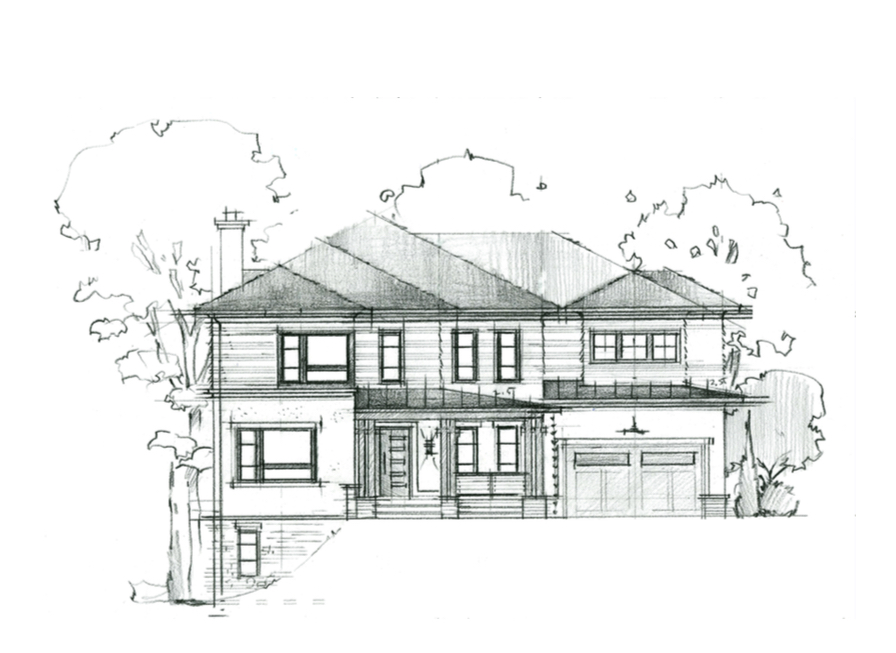 Contemporary design in this North Arlington Kensington Model