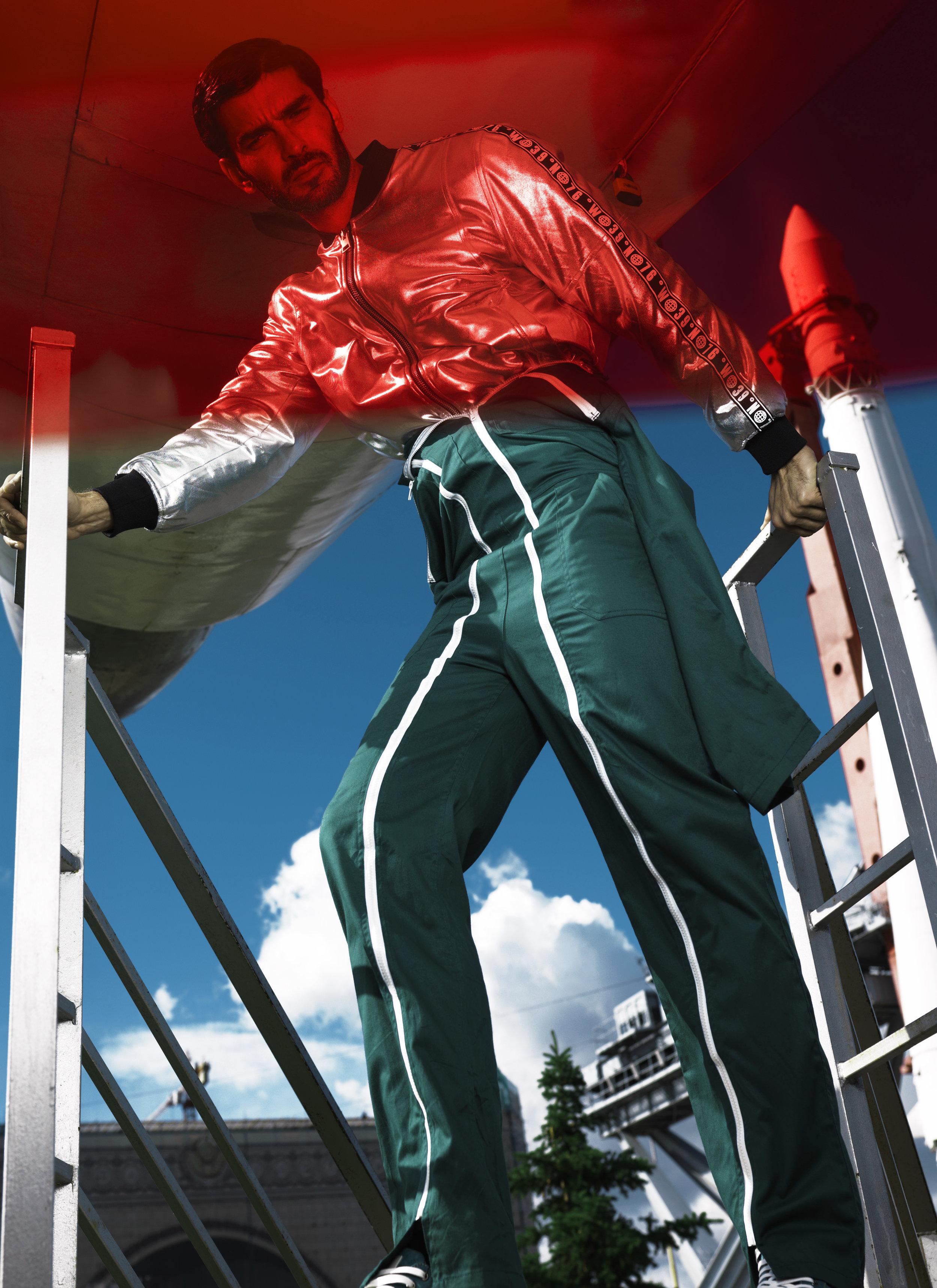 Jumpsuit Outrior Bomber jacket Asos Sweatshirt BSM Borlange, Shoes Mascotte