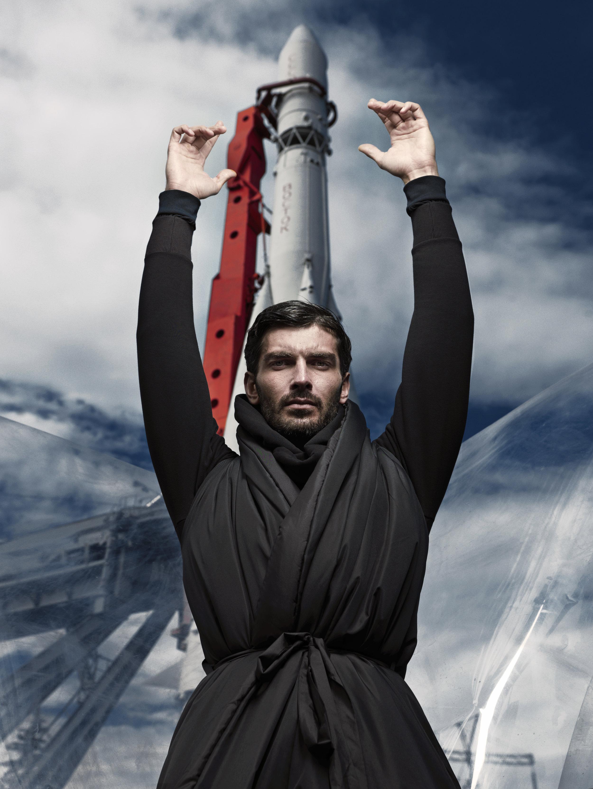 Sweatshirt Anton Lisin Coat Michael Kotin Trousers Boss