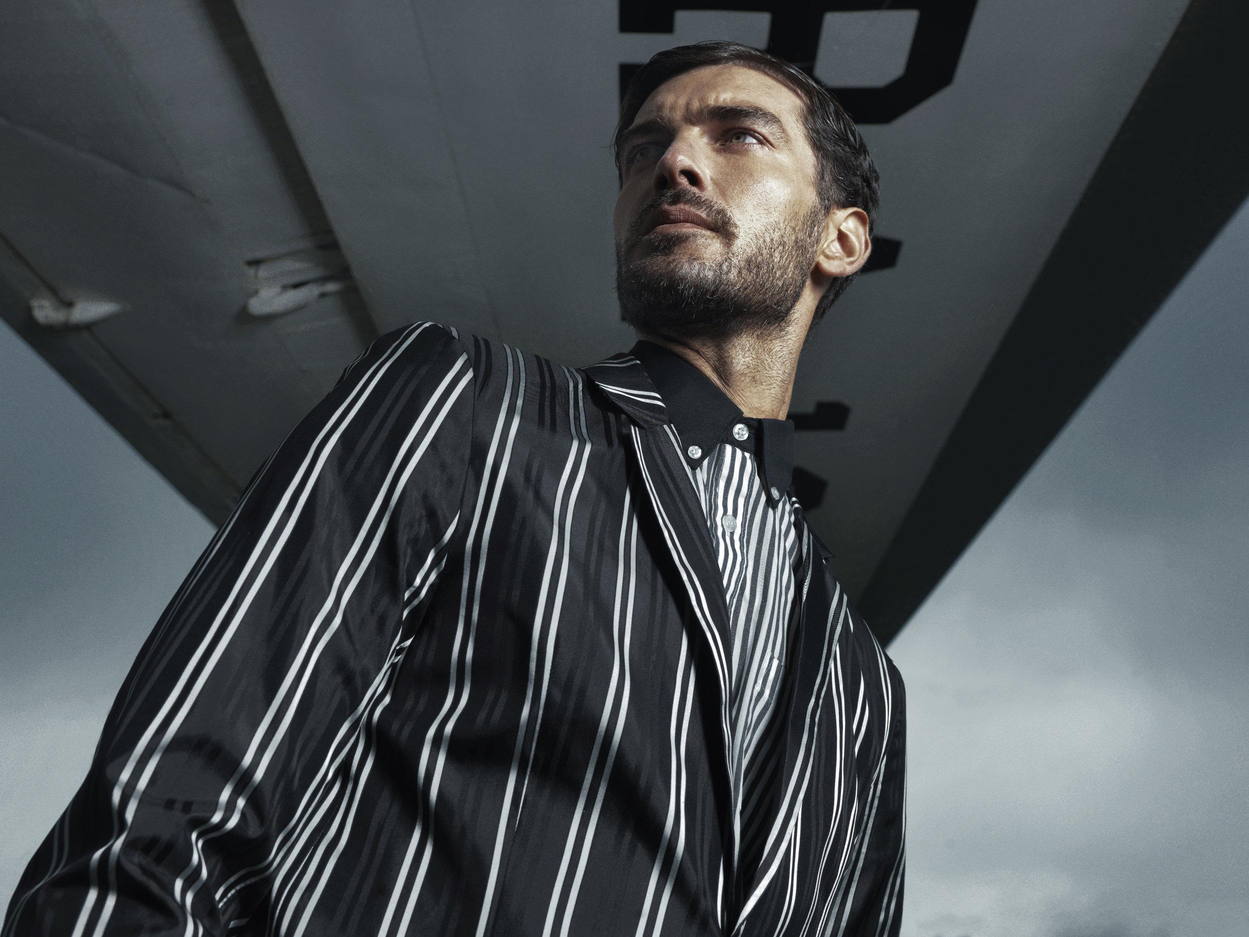 Shirt Pierre Leon Suit jacket H&M Studio