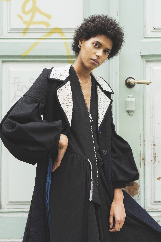 Coat: Llamazares y de Delgado  Dress: Flo Vintage