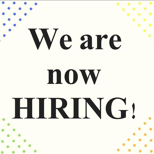 Looking for a job??? look NO further. we are so excited to expand our team. Come join something great!