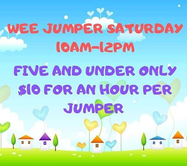 Don't miss out!! #jump #trampoline