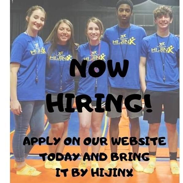 We're now hiring!