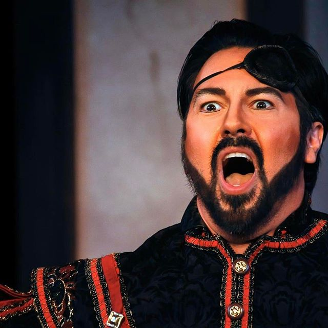 Our baritone and Artistic Director @bravoccrider is debuting as #Ford in Verdi's #Falstaff tonight with @operaonthejames Break a leg!