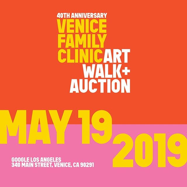 The countdown is on! Just 30 days until our 40th annual Venice Family Clinic Art Walk & Auction. Check out the information at venicefamilyclinic.org/artwalk.