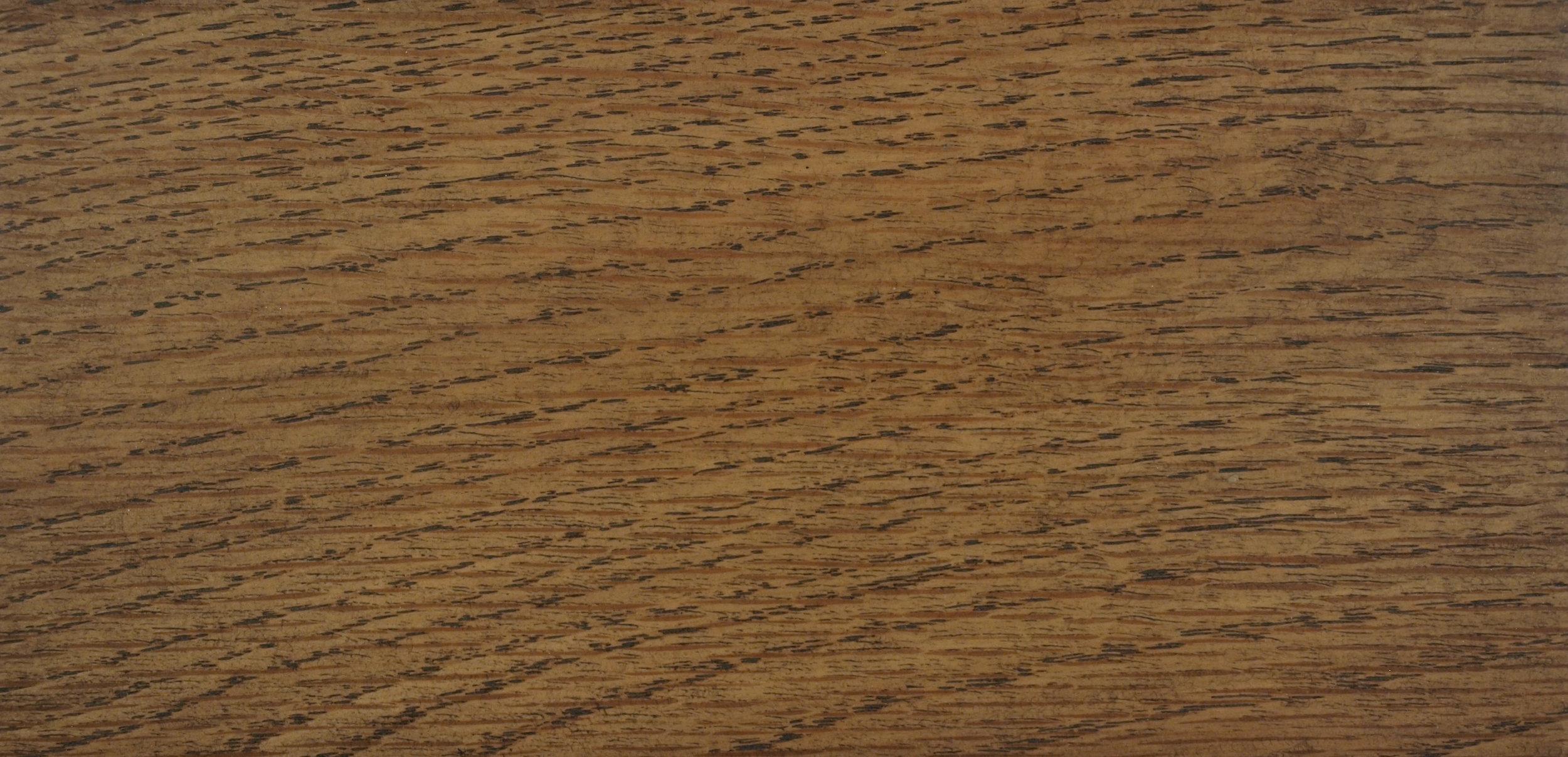 Oak with Blackened Grain Effect