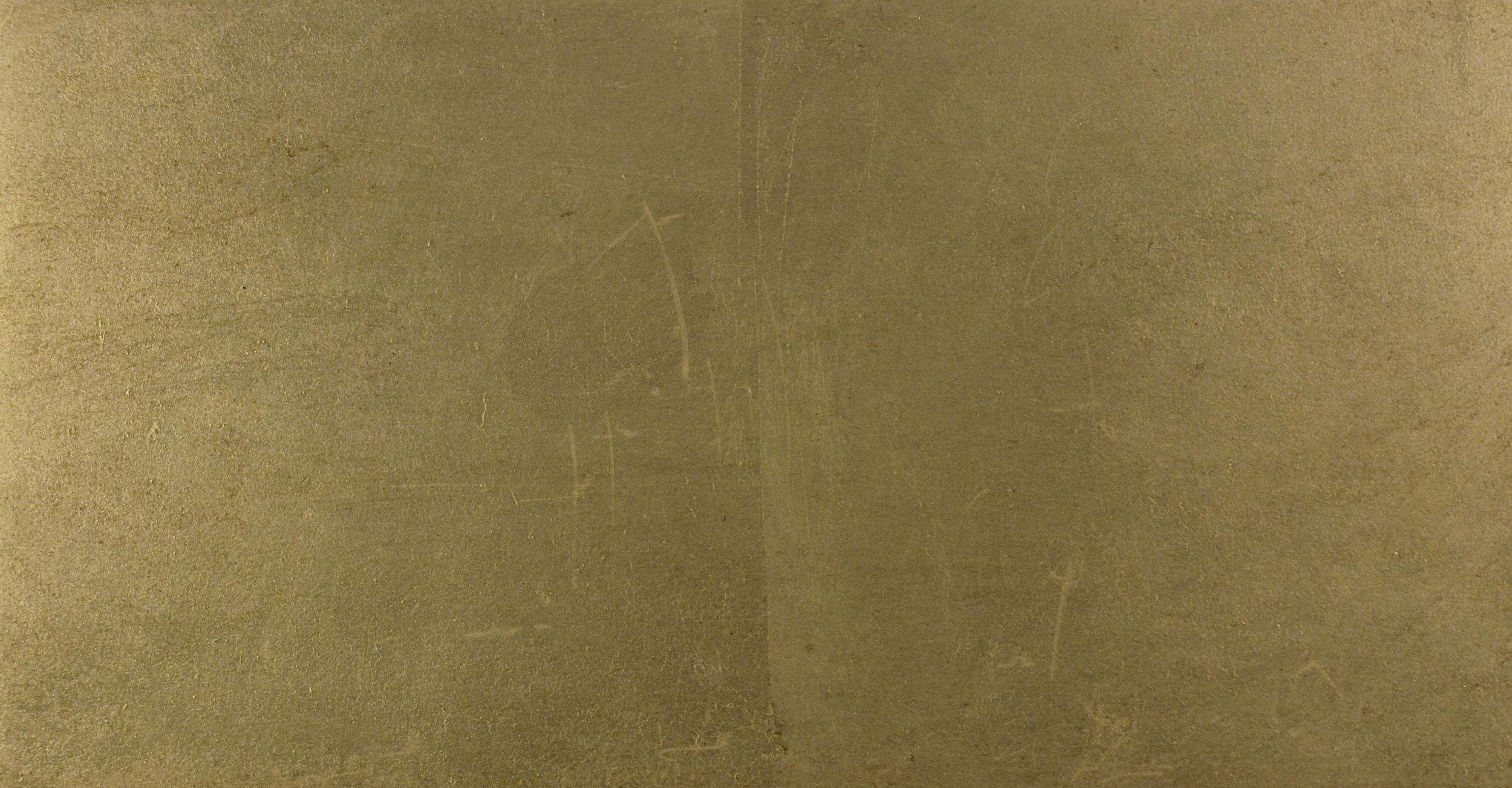 Gold Leaf on Sheet Steel