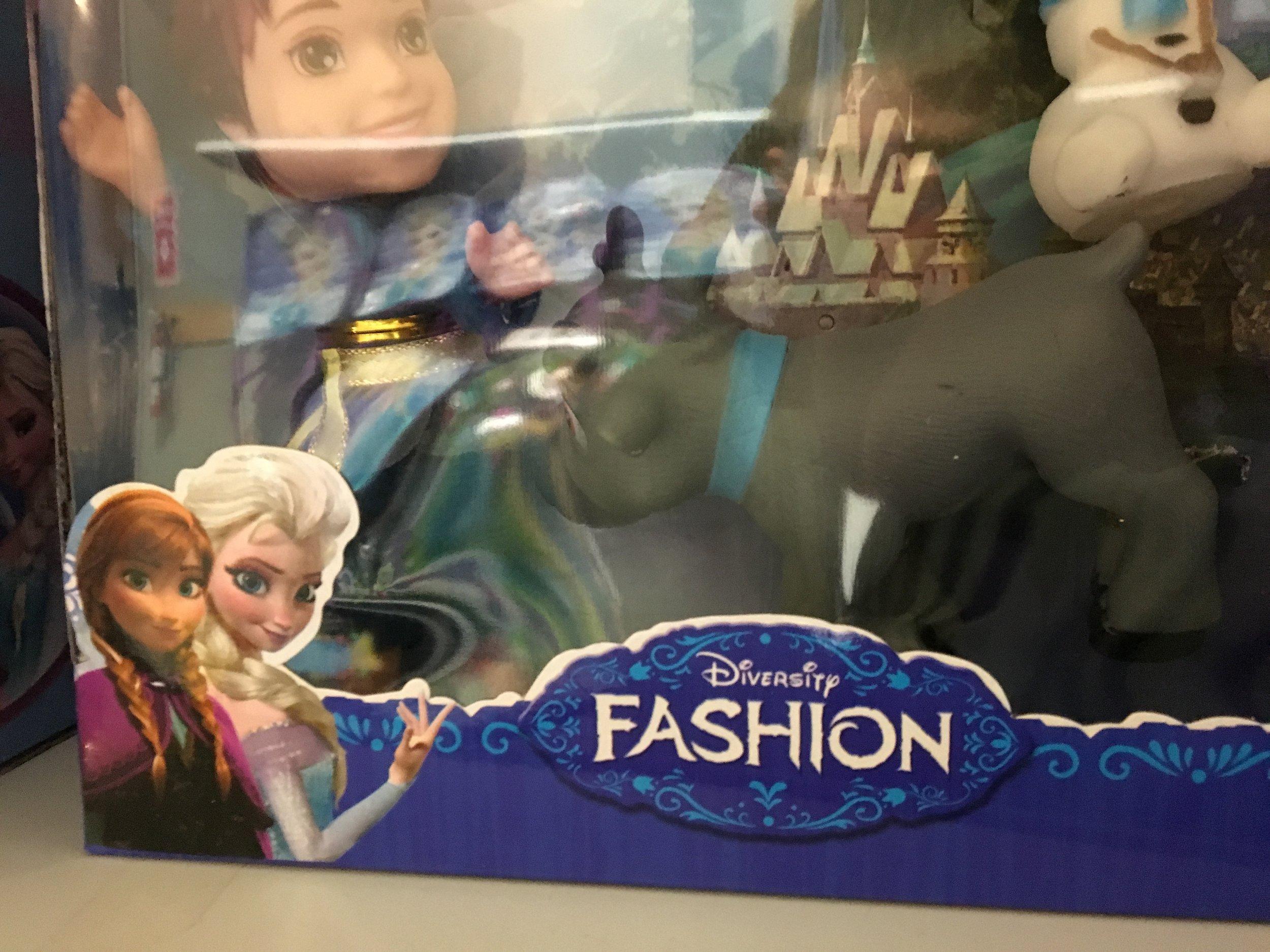 It's not Disney Frozen, it's Diversity Fashion!