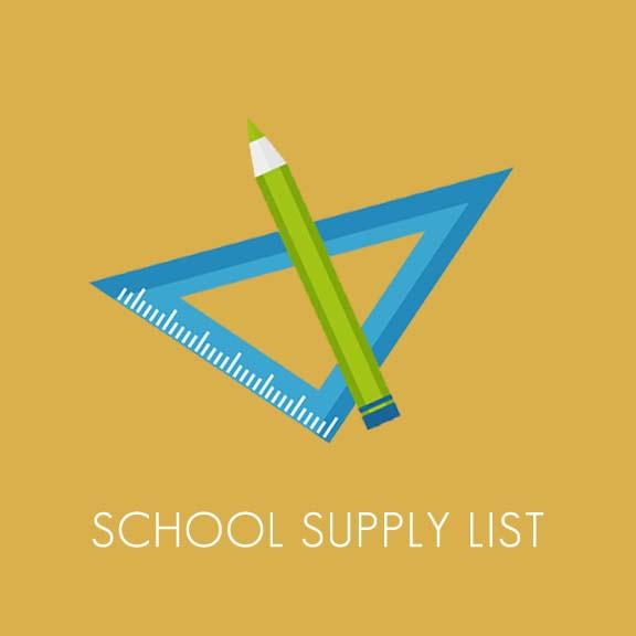 Copy of School Supply List