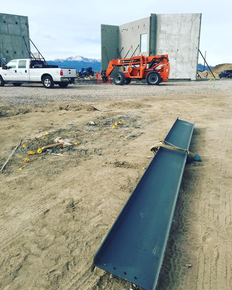 BLPA Steel Beam on Crane
