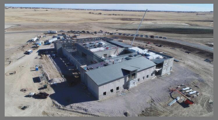 BLPA Aerial Photo top of building