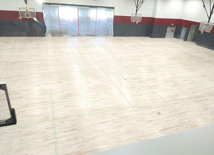 BLPA Gym Floor Completed