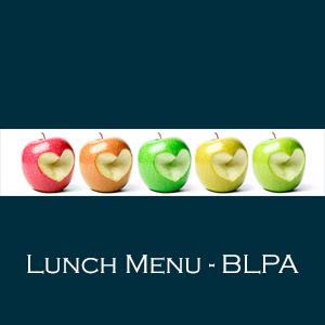 BLPA Lunch Menu