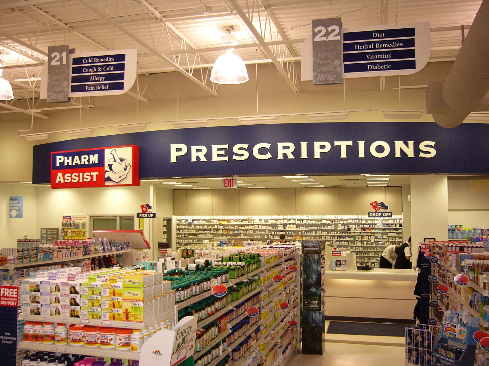 Pharma Plus, 611 Wonderland Rd. N.,interior signage 005.jpg