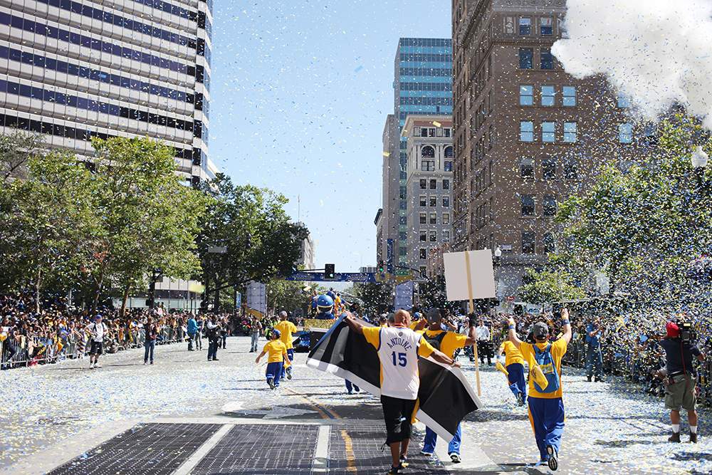 J for Jamie Blog | Golden State Warriors Parade
