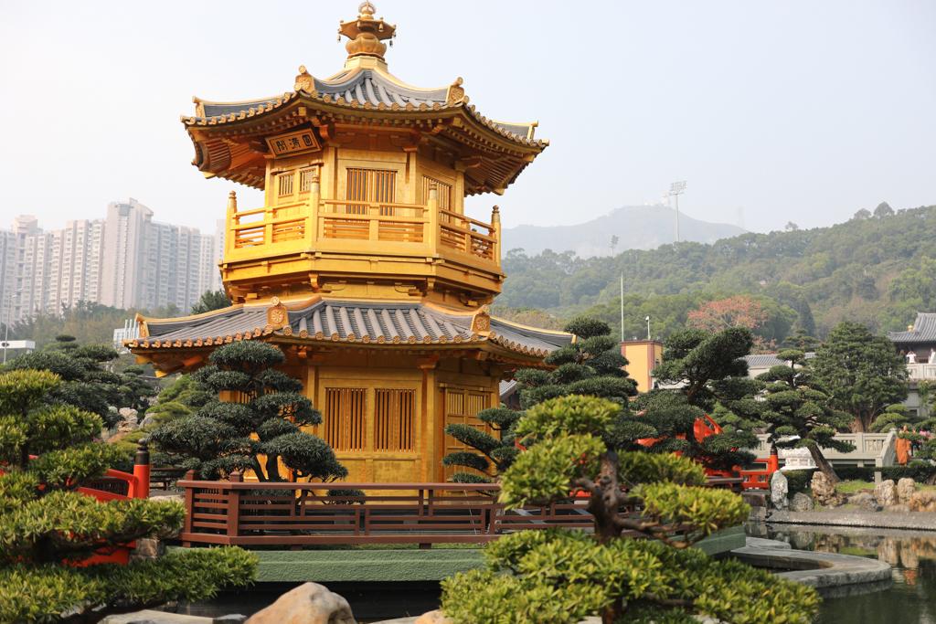 J for Jamie Blog | Hong Kong Chi Lin Nunnery
