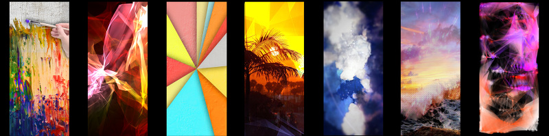 Content creation for the visual art used in the projection mapping installation at Hotel Z in San Diego