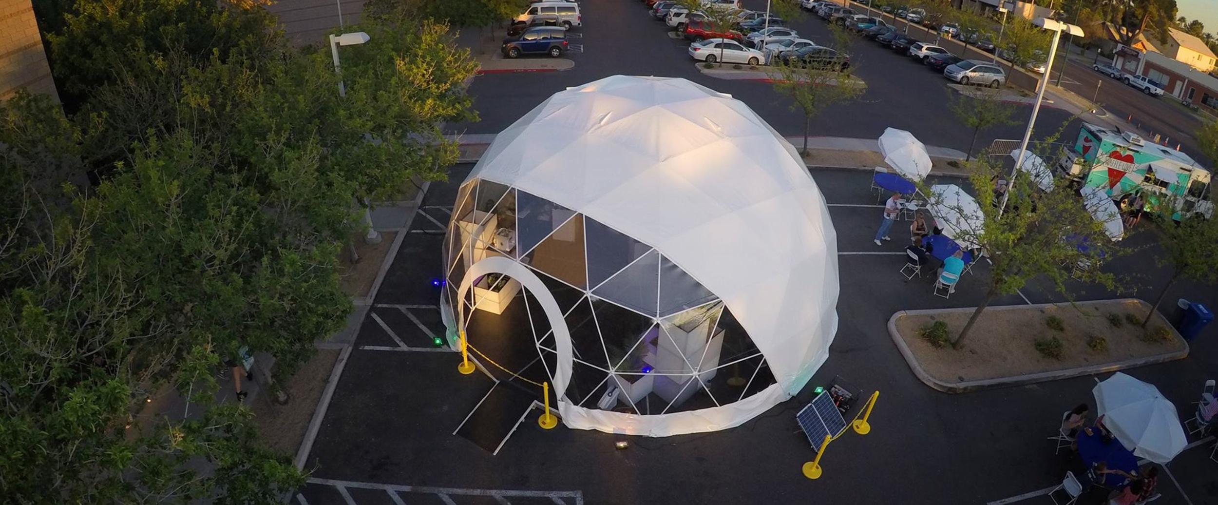 Steel geodesic doime rental company bellingham seattle washington sensebellum structure tent.jpg