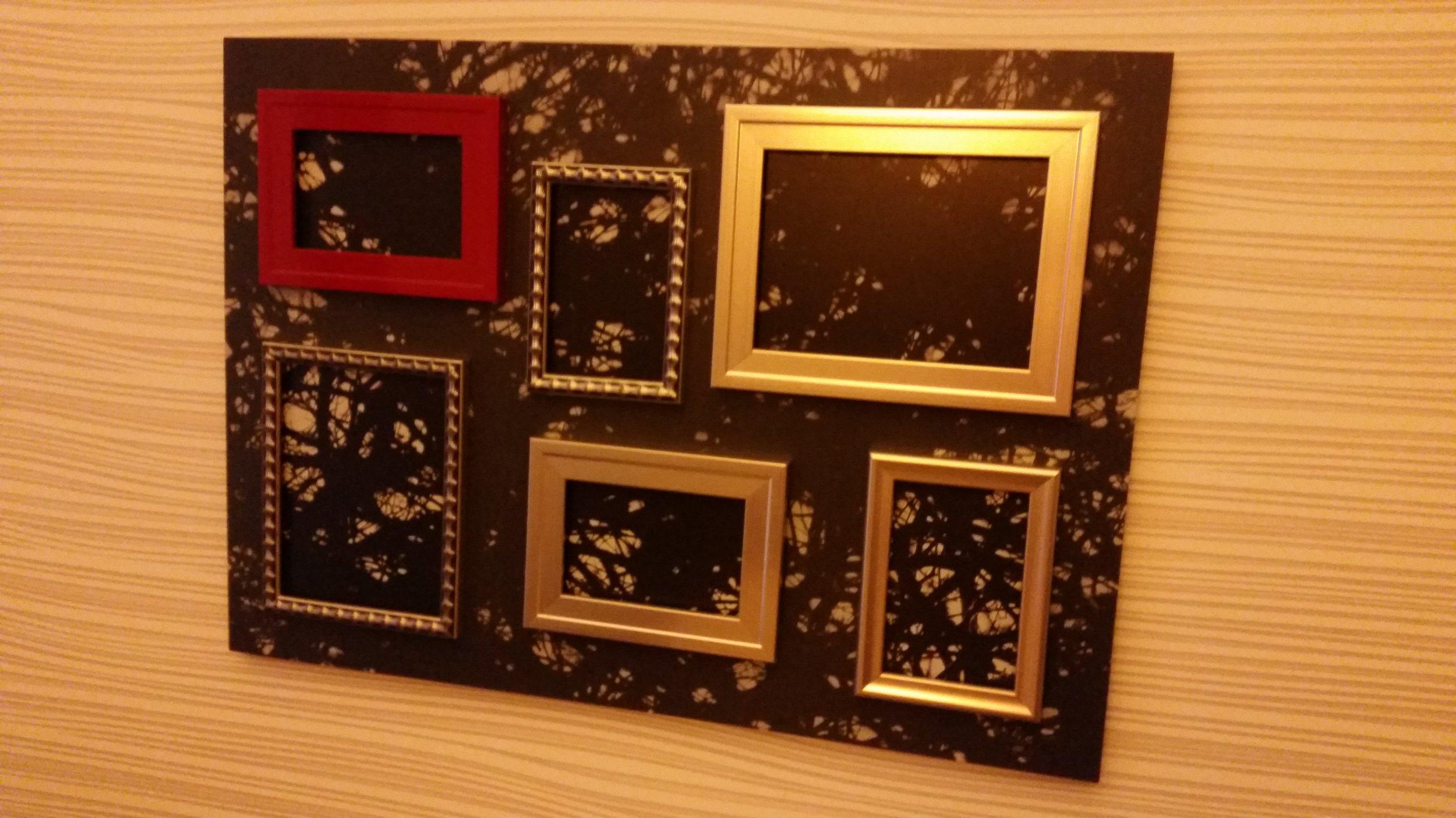 Kunst im Zimmer unseres Hotels. Quelle: Sash