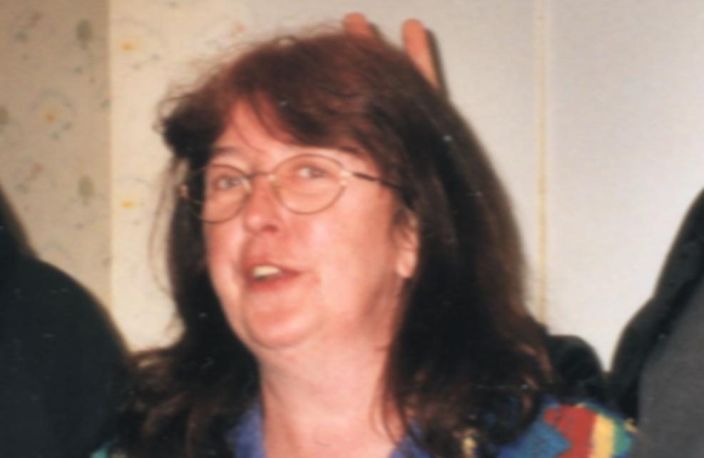 Meine Mutter, Elke Blömer, geb. Kasner 2001: Tolle Mutter, leider alkoholsüchtig. Quelle: Sash