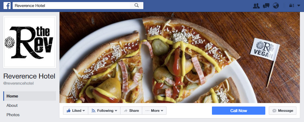 Reverence Facebook. Now at 17,000 followers and counting