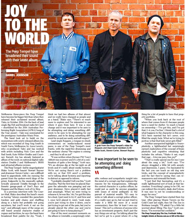 Courier Mail Canvas