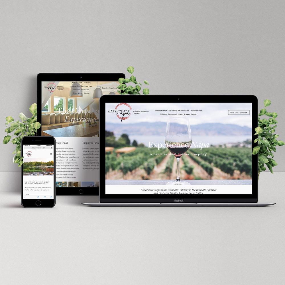 experience napa website design