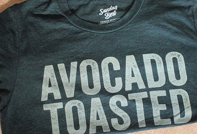 🥑 🍞  #avocadotoasted #avocadotoast #brunch #avocado #premiumbrunchwear #superfoodbrunch #healthybrunch #breakfastofchamps #breakfastofchampions #avocado🥑 #brunchtee