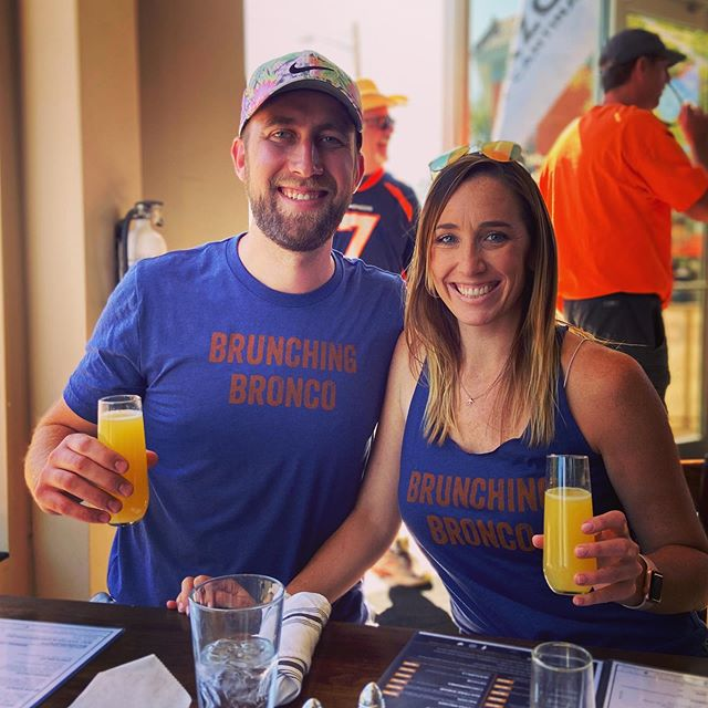When #gameday and #sundayfunday collide.  Where are you #brunching today?!? #gobroncos #brunchingbronco #bottomlessmimosas #broncoscountry