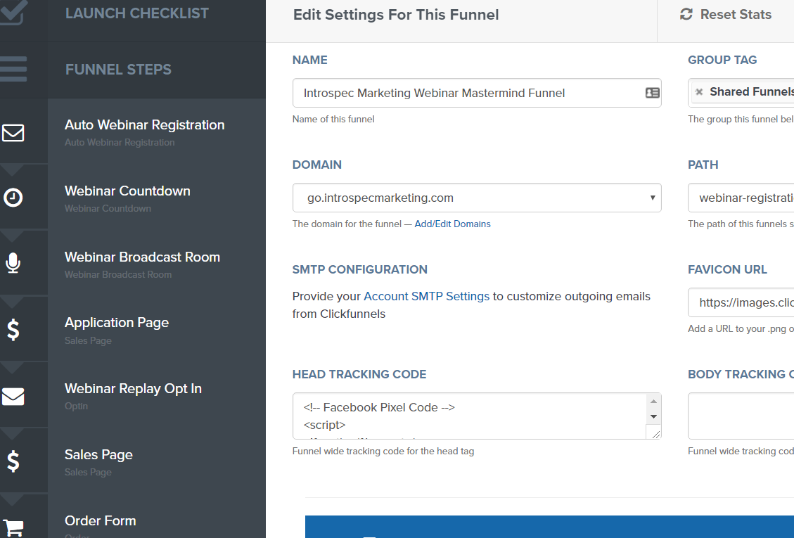 ClickFunnels Tracking Code Section for Your Facebook Pixel Code.png