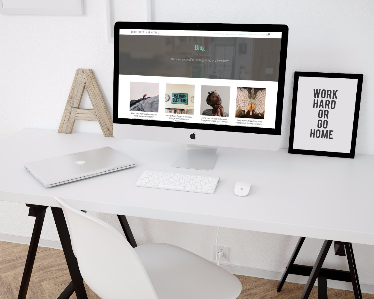 create a squarespace website course