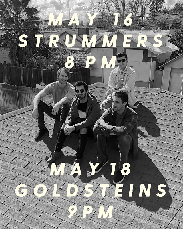 Filled with juice, ready to bust. Come watch us play!  May 16th well be opening the night at @strummersfresno with @thebrevet and @prettyawkwardband ! May 18th well be jammin all night at @goldsteinsbeer during the Comic Crawl!