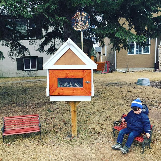 Have you checked out the Little Free Library on 34th St yet?