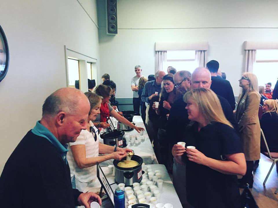 Killarney-Glengarry residents and politicians came together over soup tasting to discuss various topics affecting the community for the annual Great Soup Debate of Ward 8.