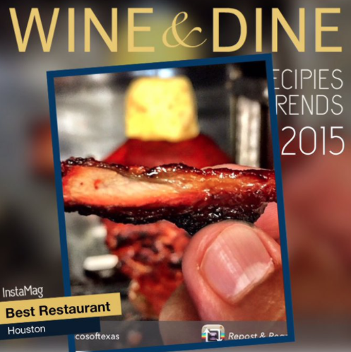 Wine & Dine Best Restaurant 2015