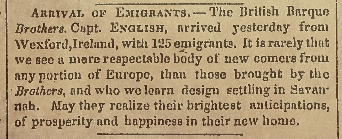 Savannah Morning News • Friday 6 December 1850
