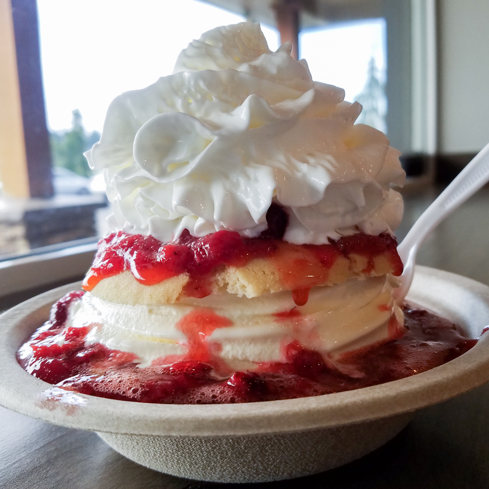 Willamette Valley Pie Company. Strawberry Shortcake. Favorite Foods in Oregon. Splendid Wonders Blog