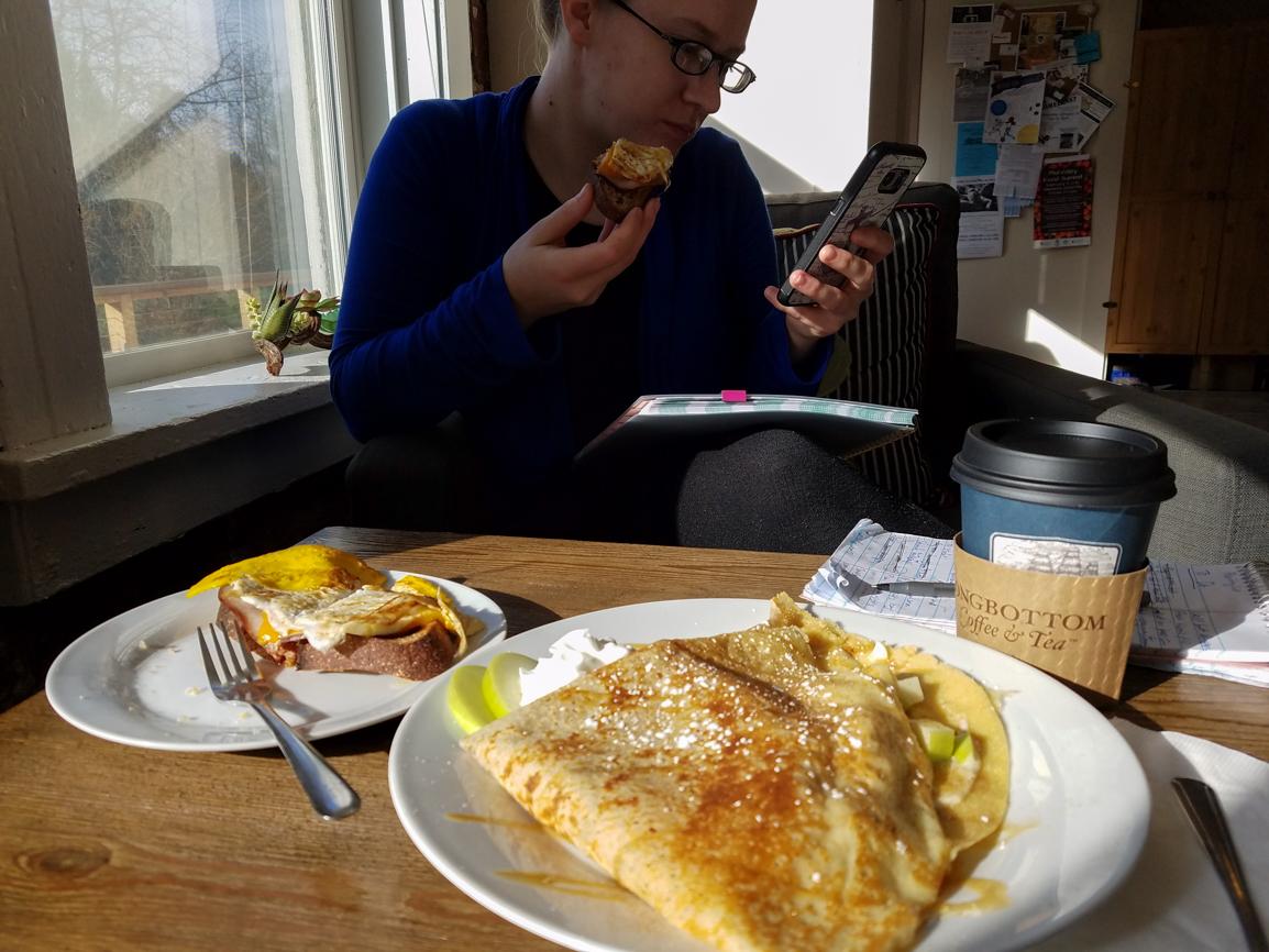 Live Local Cafe. Crepes and Loaded Toast 2. Favorite Foods in Oregon. Splendid Wonders Blog