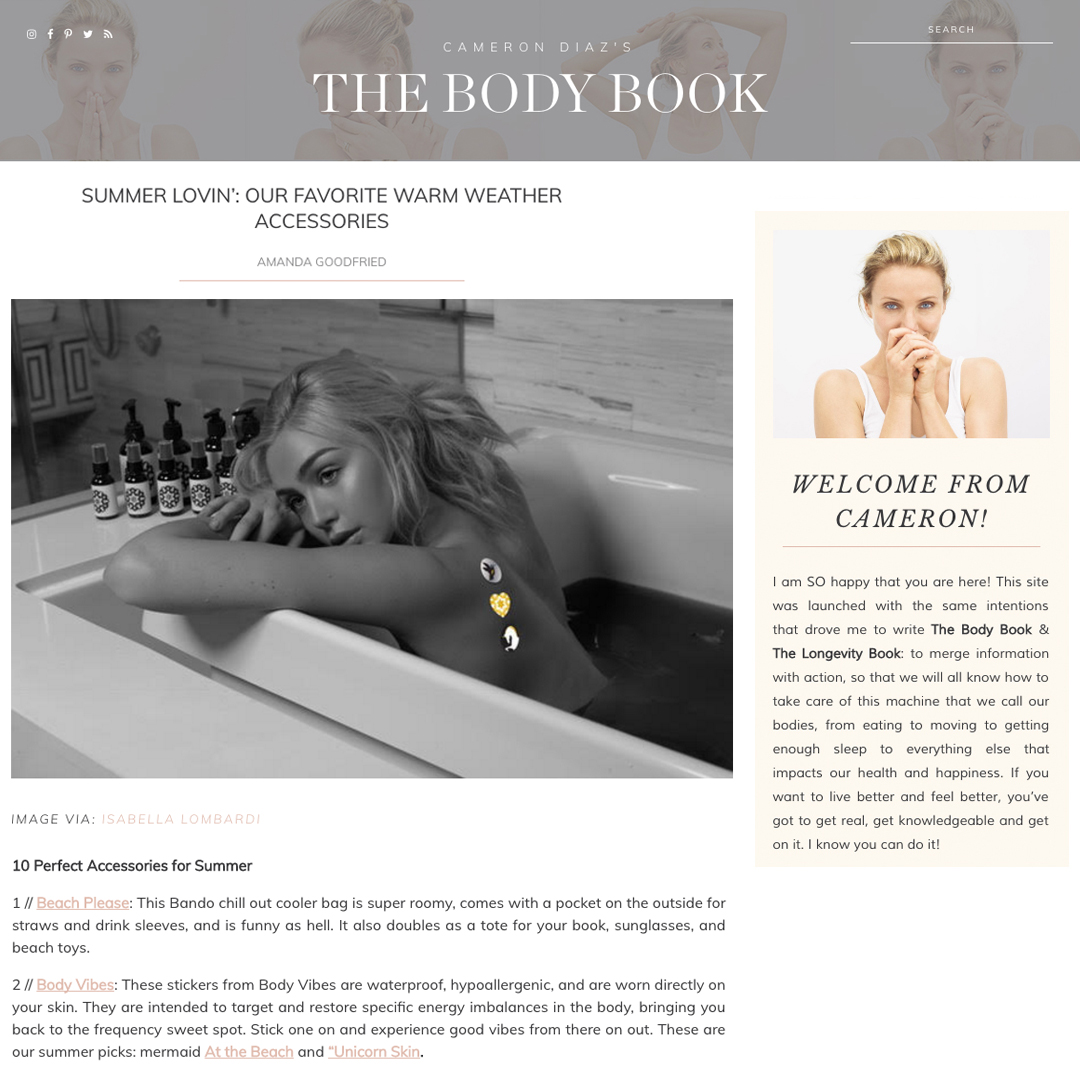 The Body Book, May 2017