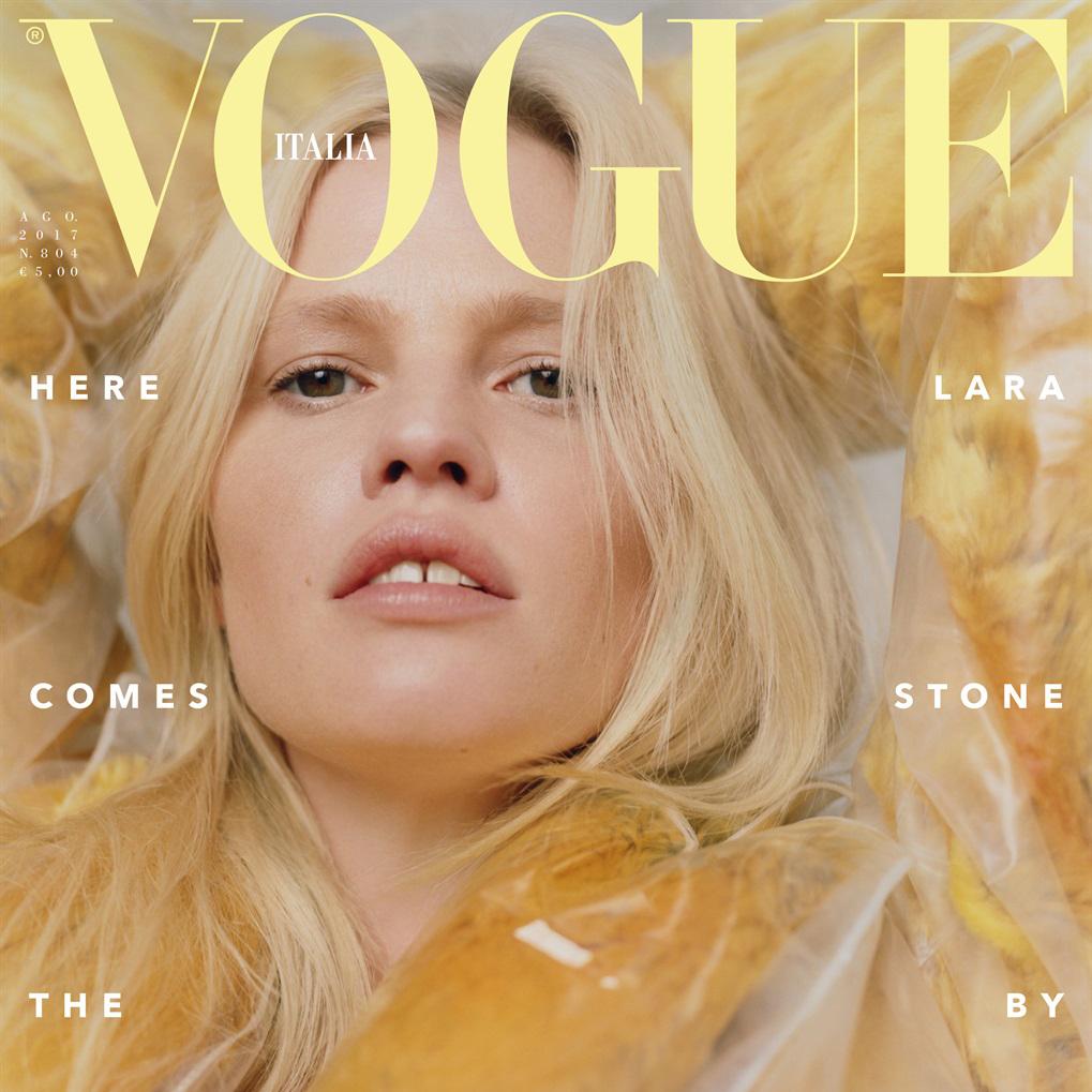 Vogue Italia, August 2017