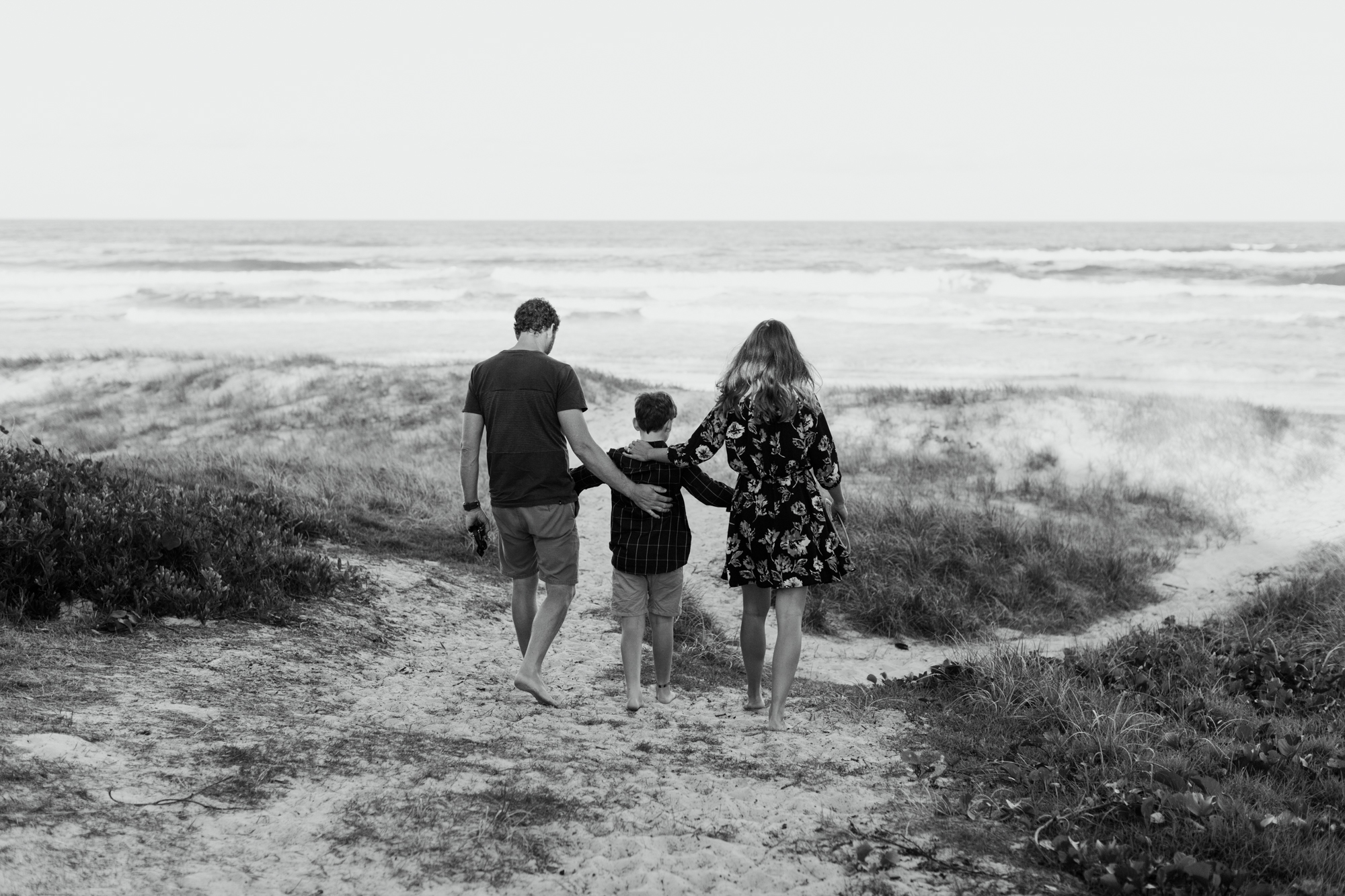 angie & jeff | family beach session