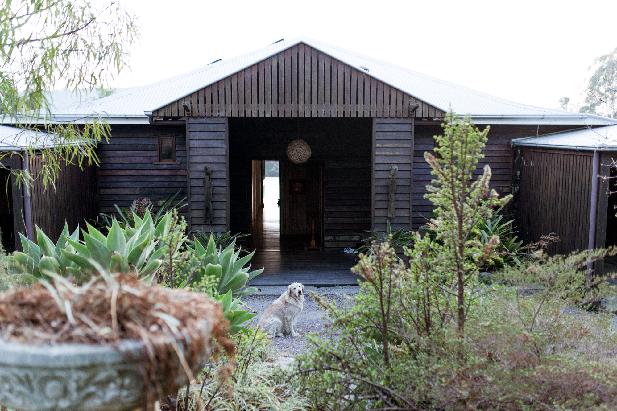 the big house & permaculture garden