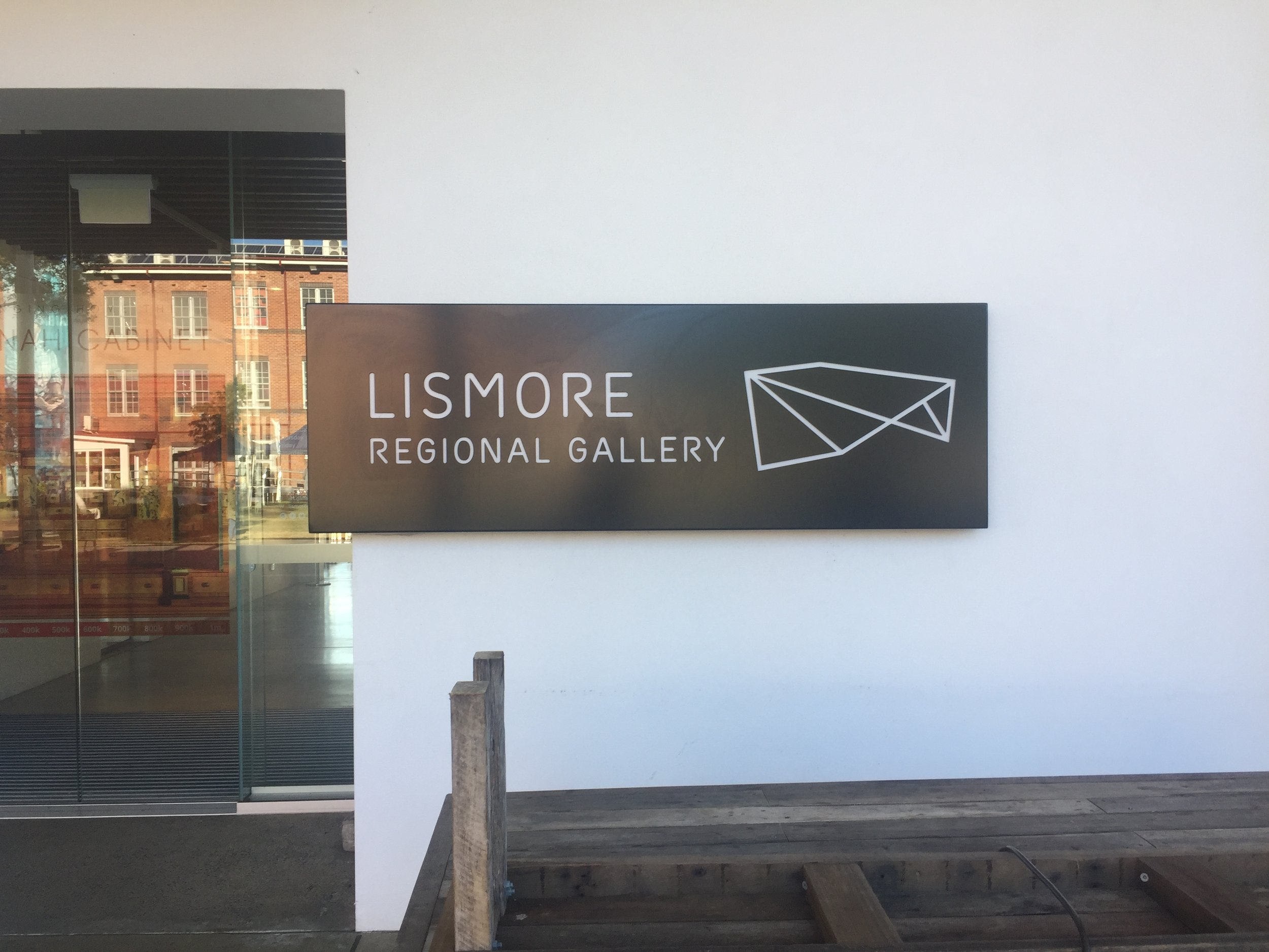 The new Lismore Regional Gallery, part of the town's civic centre Quadrangle alongside the Town Hall and Library.
