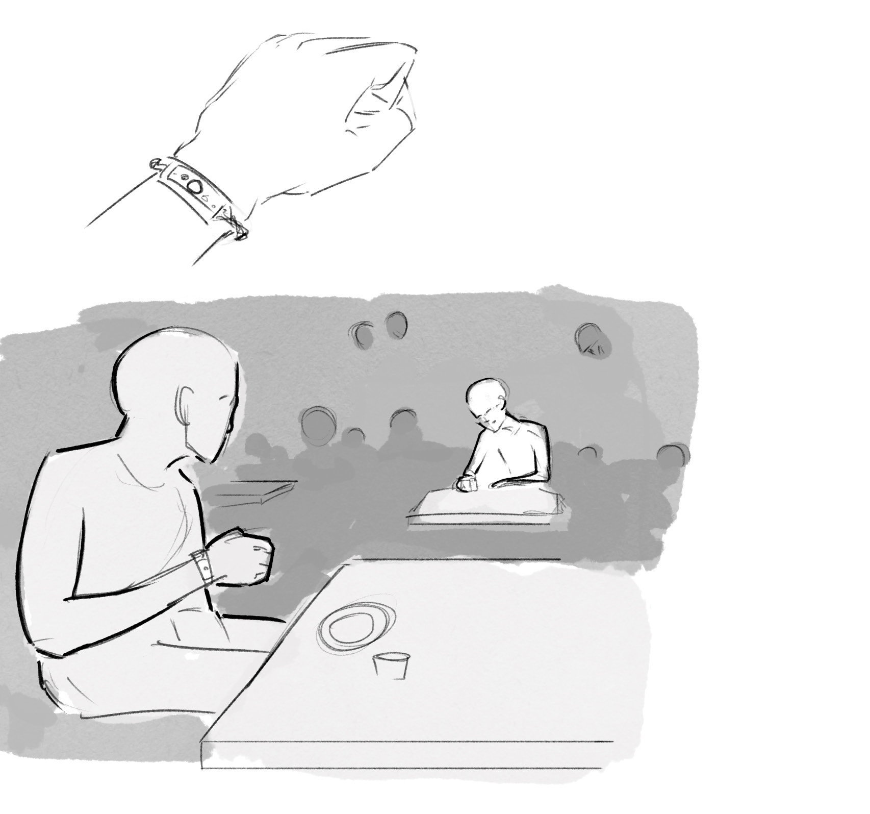 Best Forced Friendship : When a peer in your vicinity has a similar emotional problem as you, your friendship bracelets emulate the hold of your peer with haptic feedback and sends you their current feelings.