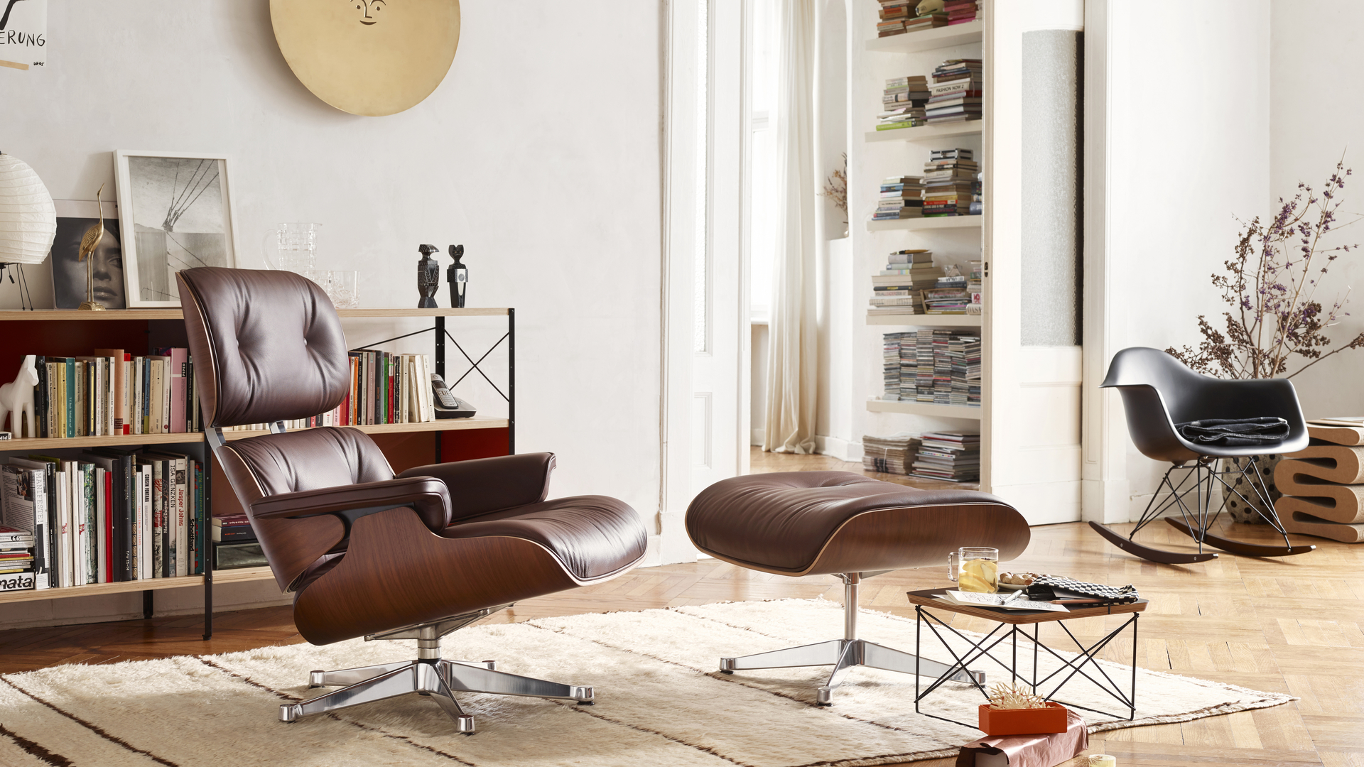 Lounge chair & Ottoman - Vitra