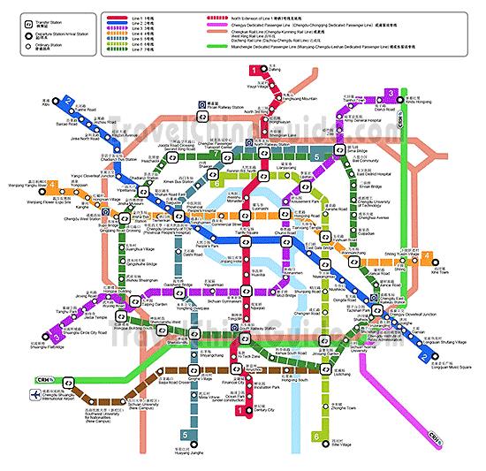 خطوط المترو المستقبلية والذي جاري العمل على انشائها