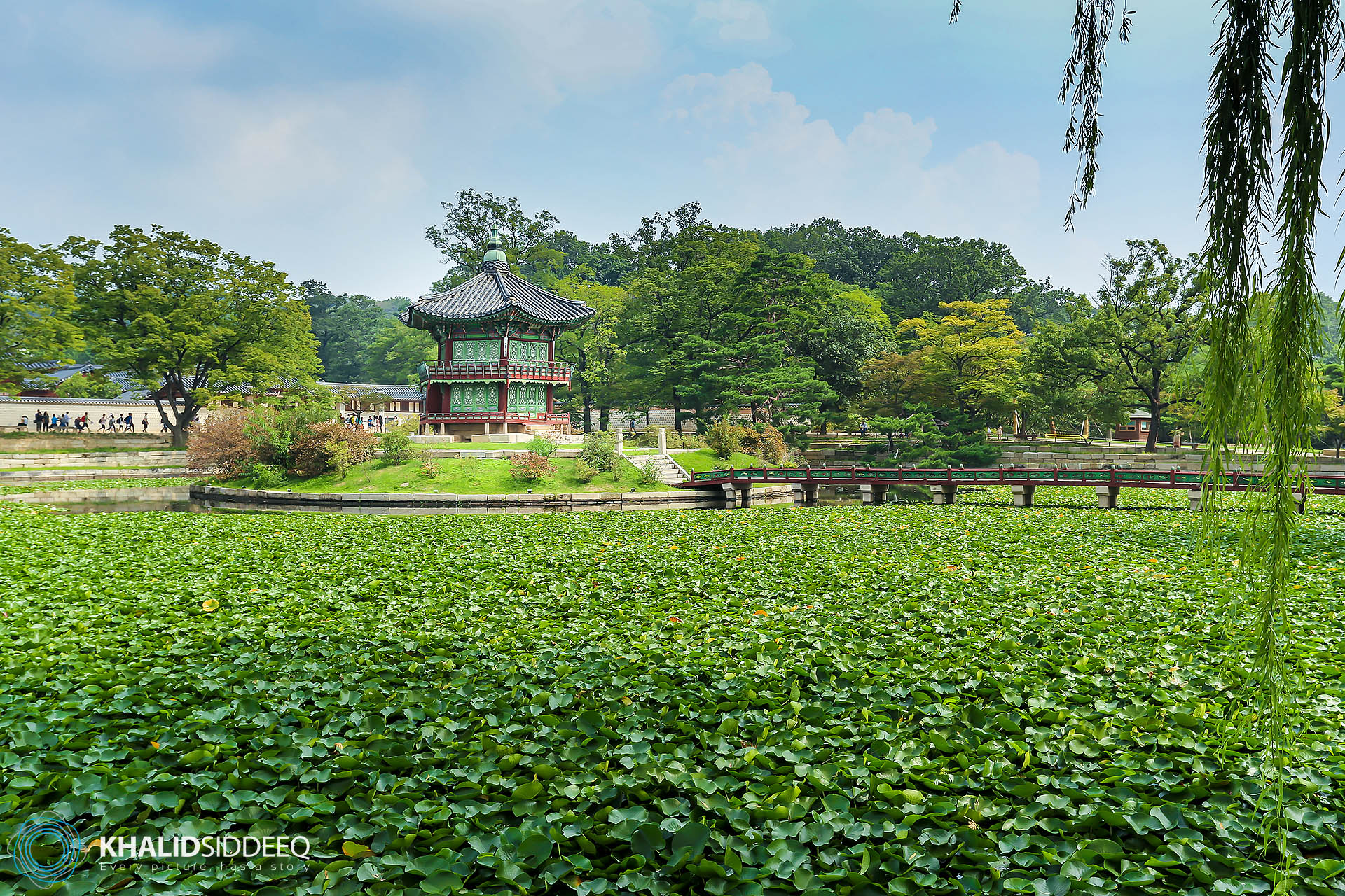 قصر تشانغ ديوك ونغ في سيئول