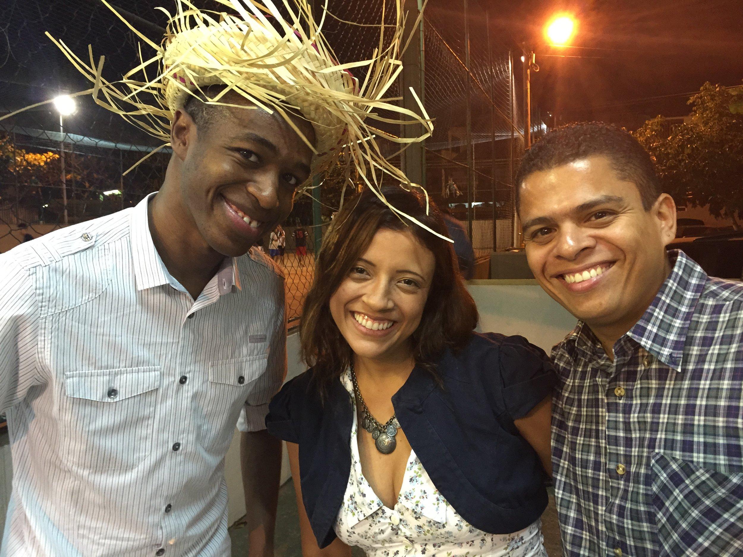 نادالين ورافاييل، زوجين رائعين سكنكت لديهما في البرازيل